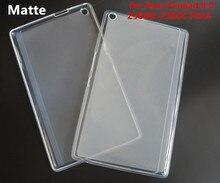 Z380 Caso Suave Mate de TPU De Goma Cubierta Trasera transparente para Asus Zenpad 8.0 Z380KL Z380C P024 Z380 Tablet Funda Protectora shell