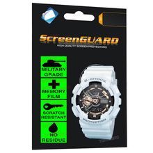Classic Military Grade Anti-Shock Film for Casio Watch G-Shock Multifunctional Analogue Digital Chronograph Date Sports
