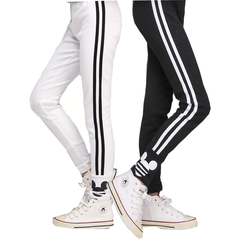 Meisje Legging Nieuwe Tiener 6 14y Meisjes Toevallige Gestreepte Leggings Katoenen Broek Voor Meisjes Sport Legging Kinderen School Broek Legging Dress Legging Tightleggings Lycra Aliexpress