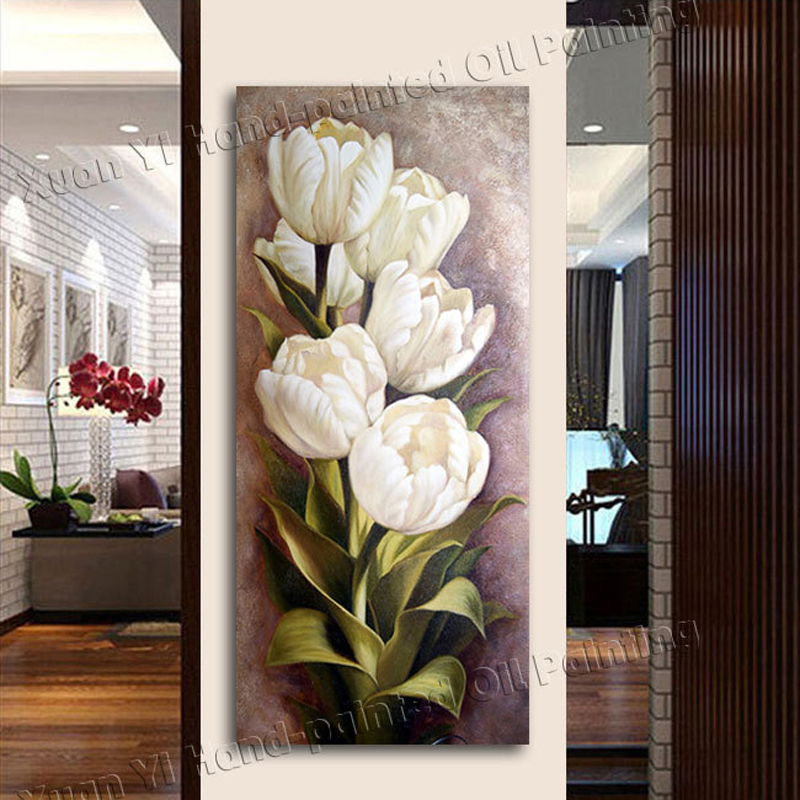 3 Piece Oil Painting Living Room Modern Wall Painting Flower Decorative  Wall Art Painting Pictures Print On Canvas(No Frame) In Painting U0026  Calligraphy From ... Part 85