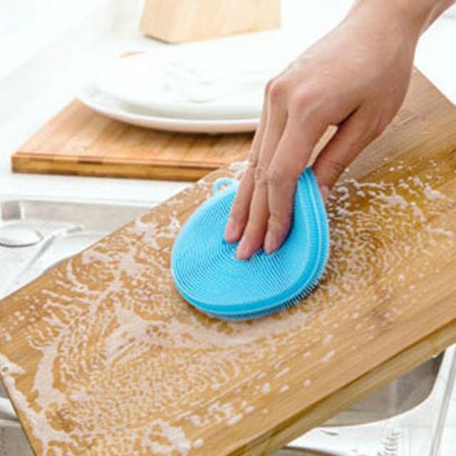 silikonowa gąbka do mycia naczyń - aliexpress