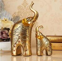 decorations, handicrafts, European home, elephant, living room decorations, wine cabinets