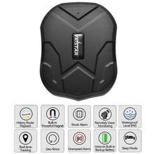 TK905 Car Tracker GPS 5000 mAh Batería de Reserva de 90 Días Localizador Dispositivo de Seguimiento de Vehículos GSM Impermeable Imán APP Web Gratuito Monitor