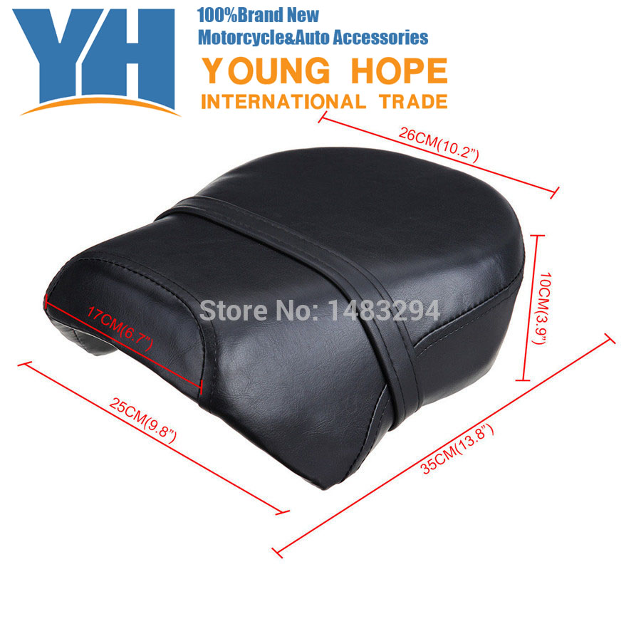 Free Shipping Rear Pillion Passenger Seat Fits for Harley Sportster 883L 883C 883 883N XL1200 2007-2014