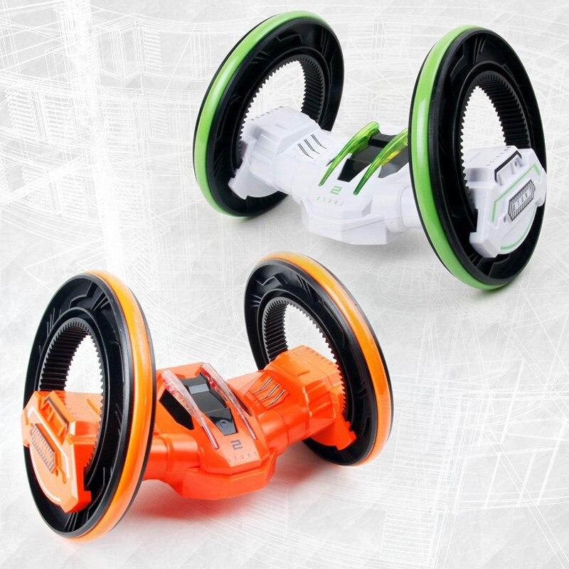 Haute qualité Rc stunt voiture 88606 Anti-lutte 360 degrés rotation roulement 4 roues véhicules RC chenille Rollingspace voiture garçon et fille