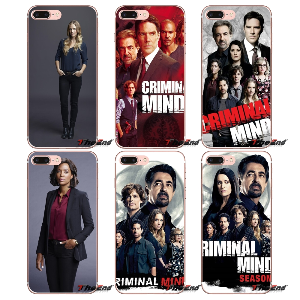 Criminal Minds Beyond Borders Soft Case For iPhone X 4 4S