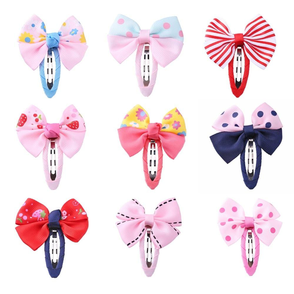 Cute Kids Baby Bowknot Hair Clip Barrettes Girls Princess Hairclip Hairpins   Headwear   Hair Accessories