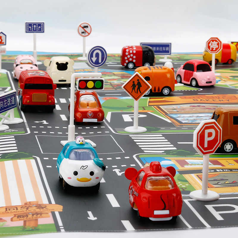 ... Carpet City Road Scene Traffic Highway Map Play Baby Play Mat Educational Toys For Children Gym ...