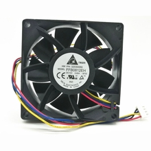 Original Delta FFB0812EH 8CM 80MM 8025 80*80*25MM 12V 0.80A violent wind capacity 4 wire fan with PWM support стоимость