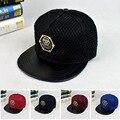Caliente 2016 nueva moda casual batman hip hop snapback caps sombrero para Mujeres de Los Hombres Del Estilo Del Verano del Cráneo Carta NY & LA Gorra de Béisbol Sombrero hueso