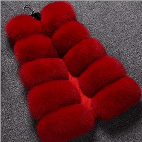 Fausse D'hiver Manteau Faux 2018 Fluffy Plus Z43 La Fourrure Gilet Moelleux Artificielle De Femme Femmes Vestes Taille Gilets gnawxId5q