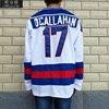 MeiLunNa Brand Christmas Black Friday 1980 Miracle On Ice Team USA 17 Jack O Callahan White