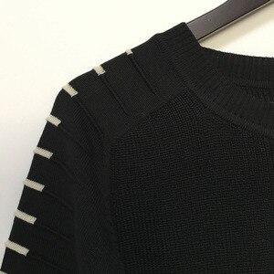 Image 5 - Мужской трикотажный свитер с круглым вырезом, с длинным рукавом