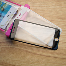 3D Full Cover Coverage Screen Protector For iphone 4 4s 5 5s 6 6s plus 7plus Screen Protector Glass on the for iphone 7(China)