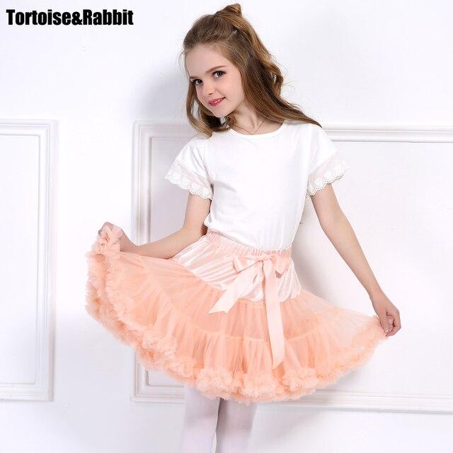 f1f1ca6c3132 Cute Baby Girls Tutu Child Skirt Pettiskirt Layer Fluffy Children ...