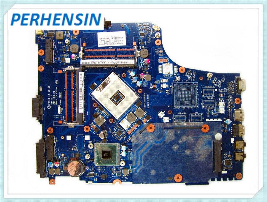 MBRN802001 МБ. RN802.001 для acer aspire 7750 7750Z Материнская плата ноутбука LA-6911P 3 AMFG P7YE0 HM65 GMA HD DDR3 100% работают отлично