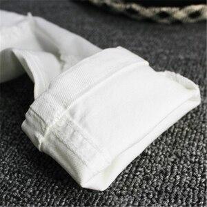 Image 5 - 2019childrens ג ינס ילד לבן מכנסי קזואל הגדול ילדי אביב ובסתיו בנות Slim מכנסיים מכנסיים תינוק חורים