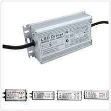 Светодиодный драйвер 1 шт 10 Вт 20 30 50 100 200 85 265 В переменного