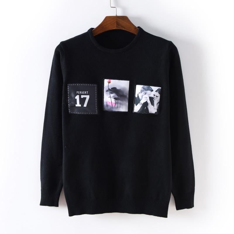 New font b Men s b font Clothing 2016 O neck font b Sweater b font