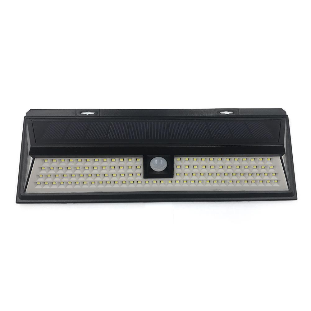 waterproof Outdoor Motion Activated 118 LED Bright Solar Powered Light for Patio Deck Yard Garden Human body induction