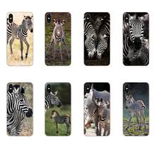 For Sony Xperia Z Z1 Z2 Z3 Z4 Z5 compact Mini M2 M4 M5 T3 E3 E5 XA XA1 XZ Premium Soft Cover Africa Kewende Tossed Zebra(China)