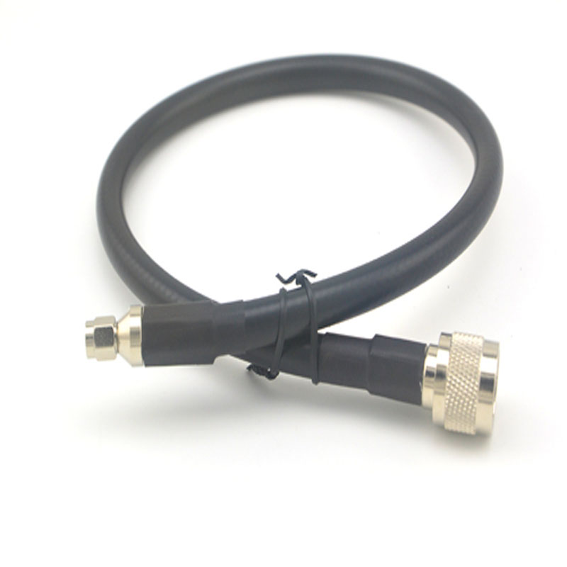 Extension cord N male to RP SMA Plug female pin RF Connector adapter coaxial adapter 50CM LMR400 Pigtail Jumper cable цена