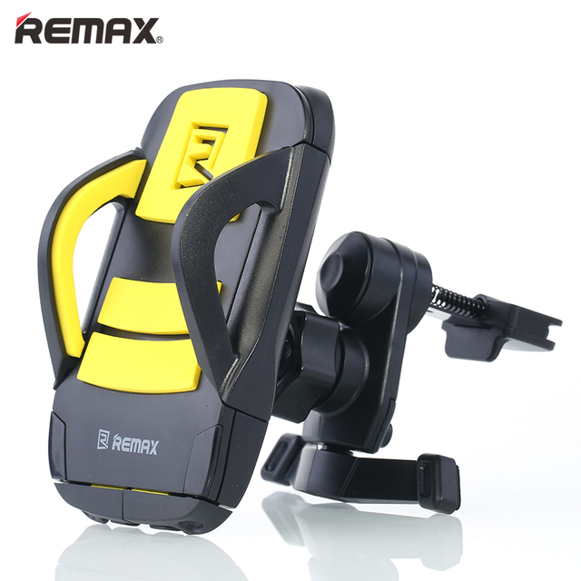 Remax Car Air Vent Mount Mobile Phone Holder 360 degree Rotate Mini Size Stable Phones Bracket Hands Free Safe Driving Universal