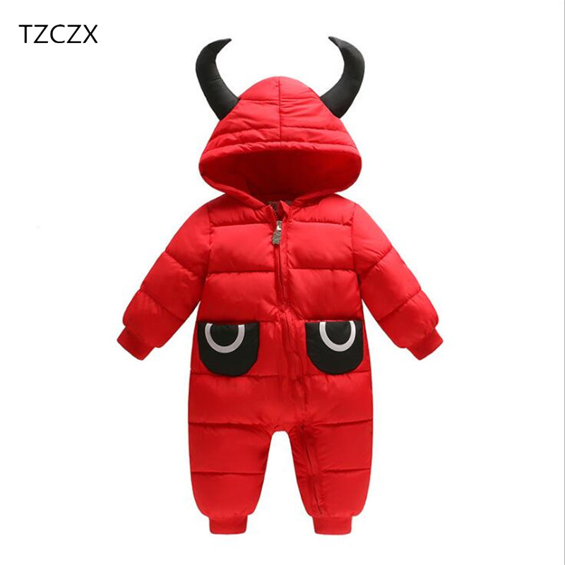 TZCZX 1pcs New Baby Girls Boys Children Rompers Solid cotton Hooded Jumpsuit For 6 Month to 2 Years Old Kids Wear Clothes new the european ce standards pp plastic baby walkers scooters musical scooter for children 2 years of age or older