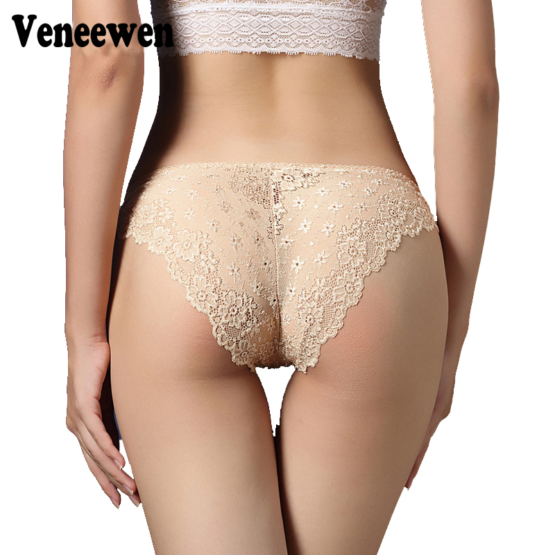 Haute qualit sexy transparent culotte en dentelle for Calecon avec slip interieur