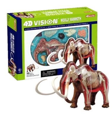 4D Master simulation mammoth anatomical assembly model can be disassembled robin hood 4d xxray master mighty jaxx jason freeny anatomy cartoon ornament