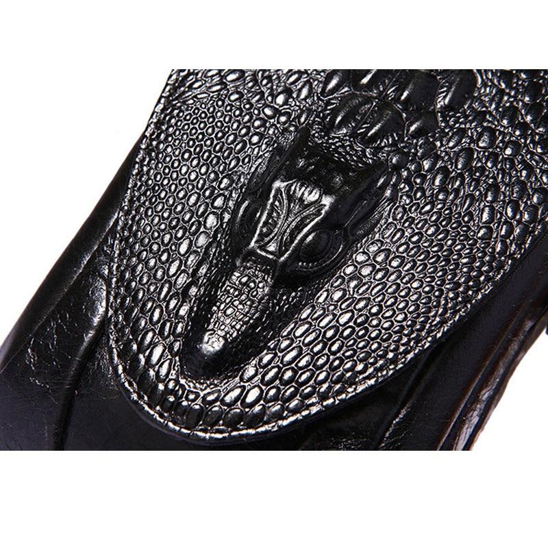 YIANG Classic Leather Belt Pouch Men Äkta Läder Kohhide - Bälten väskor - Foto 2