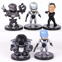 RoboCop мини ПВХ фигурки, Коллекционная модель, игрушки 5 шт./компл.