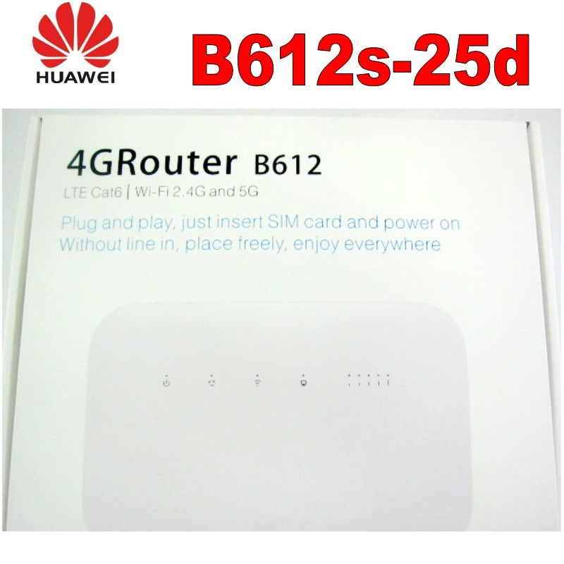 US $55000.0 |Lot of 500pcs Huawei B612 Unlocked 4G LTE Cat 6 CPE B612s 25d wifi router 300Mbps Mobile MIFi|3G4G Routers| AliExpress