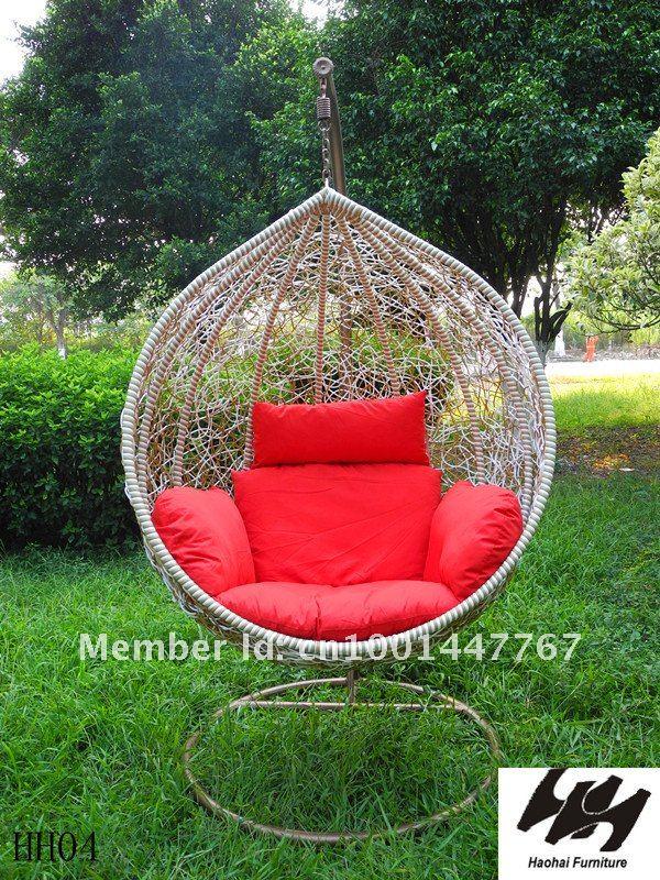 Incroyable New/garland Hanging Basket/rattan Swing Chair/outdoor/rattan Sofa/balcony/leisure/imitation  Rattan Birdu0027s Nest In Patio Swings From Furniture On ...