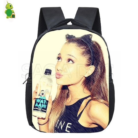 Mochila Ariana Grande Backpack Children School Bags Toddler Backpack Boys Girls Primary Kindergarten Backpack Kids Small Bags Lahore