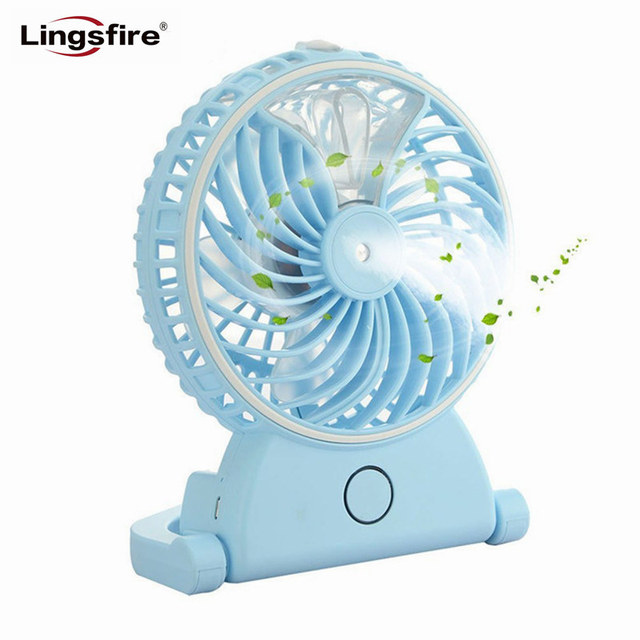 Beau Portable Desktop Humidifier Fans Mini Handheld Fans USB Rechargeable  Cooling Misting Fan Personal Humidifier Air Conditioner
