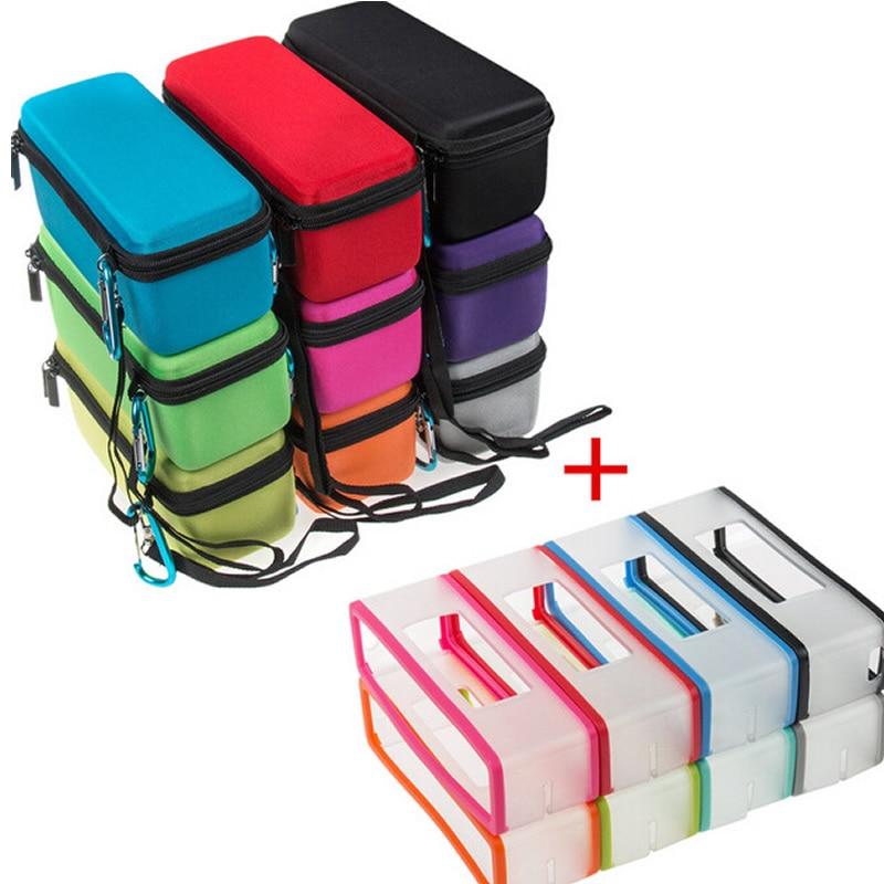 bilder für Factory Outlet Mode EVA halbhart Tragetasche + Soft cover haut für Bose Soundlink Mini/Mini 2 drahtlose Bluetooth Lautsprecher