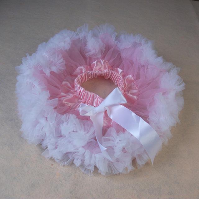 2016 de Alta Calidad de Gasa Suave Y Esponjosa Faldas Bebé 6 Colores Faldas Del Tutú Muchachas de la Princesa Fiesta de Baile de Tul Falda de La Enagua Del Envío Libre