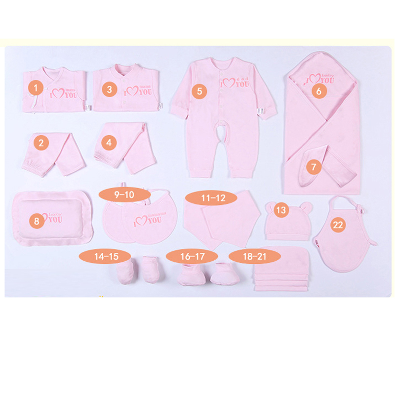 Emotion Moms Newborn Baby Clothing Set Brand Baby Boy Girl Clothes Set  Cotton New Born