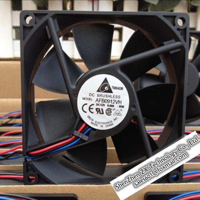 9025 9 cm doble cojinete de bolas vientos del ventilador 12 V 0.60A AFB0912VH Nueva Original