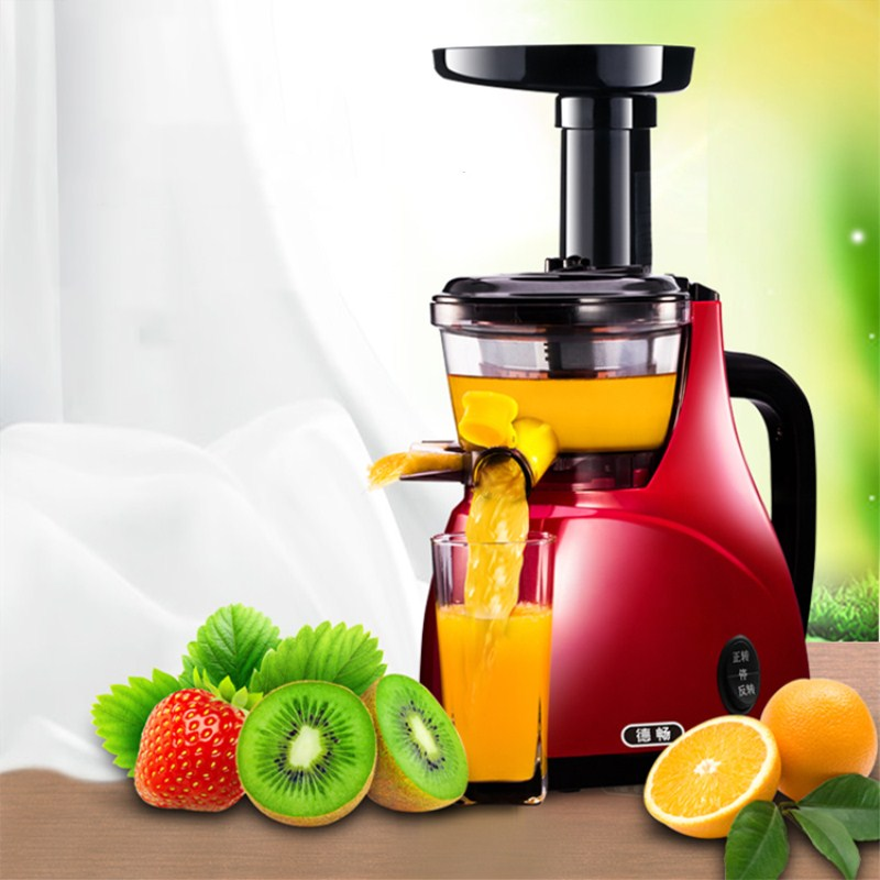 Stainless Steel Automatic Slow Juicer Electric Fruit Juice Machine Cold Press Extractor Squeezer for Home use wjec m2 slow juicer juice machine automatic home fried fruit juice machine soymilk