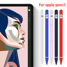Siliconen Case voor apple Potlood Shock Proof Beschermende Houder Mouw Cover Pouch voor apple iphone IPencil Pen 1nd 2nd(China)