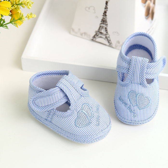 Baby Shoes Girl Boy Soft Sole Crib Toddler Shoes Kids Bowknot Cloth Quality Walking Sneaker For Baby  HOOLER