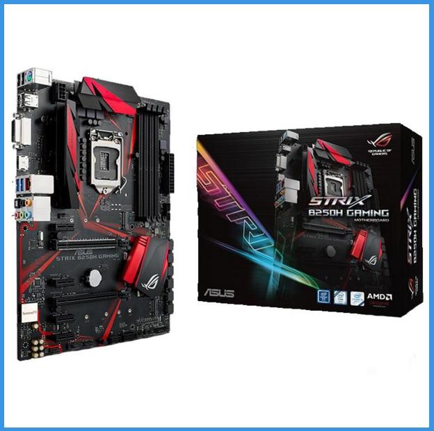 Asus ROG STRIX B250H GAMING 1151 Pin  Motherboards New Original