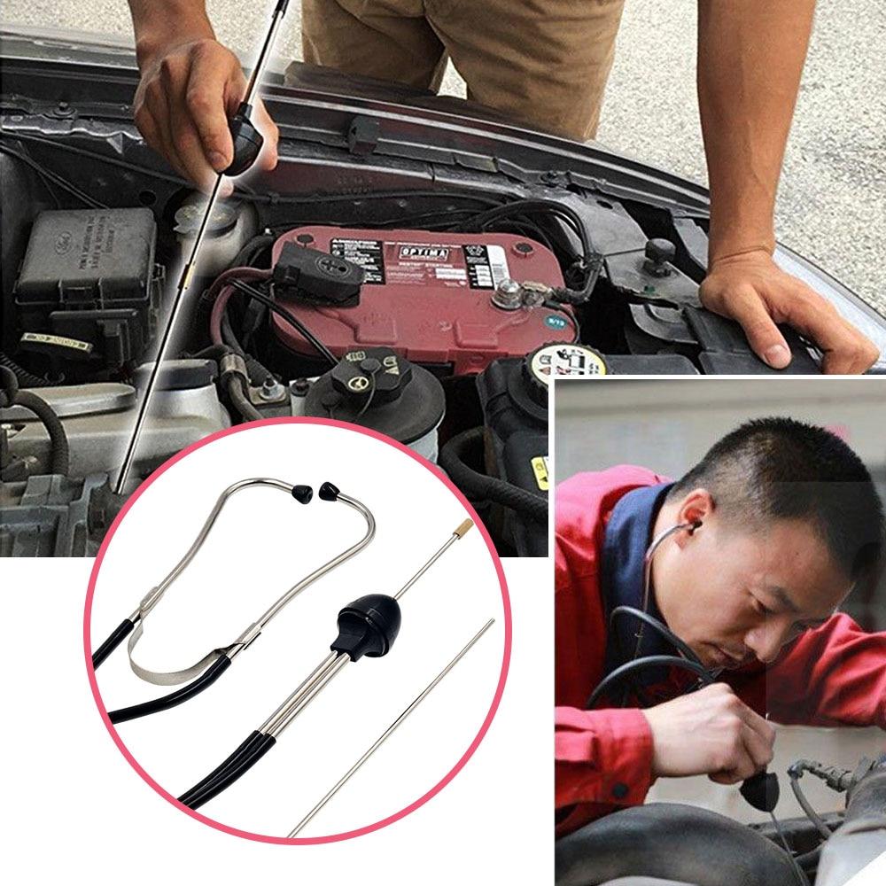 Newly Car Engine Stethoscope Automotive Cylinder Stethoscope Auto Mechanics Engine Hearing Car Diagnostic Tool Engine Analyzer Pakistan