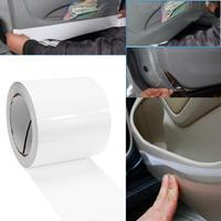 18 m Yarı-temizle Araba Oto Kapı Kenar Boya Anti-scratch Koruyucu FilmSticker Temizle Kapı Eşiği Kenar Boya koruma Araba Styling