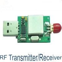 RF Module 433MHz Wireless Data Tranceiver Short Range USB Interface High Speed 100Kbps Serial Data Communication