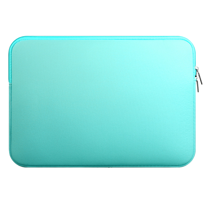 Sleeve Case For Macbook Laptop AIR PRO Retina (Model 1 Mint Green 11 without outer pocket)