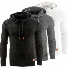 Hooded Mens Sweater Autumn Winter 2018 Long Sleeve Solid Color Tracksuit Pullovers Casual Sweater Men Sportswear Vetement Homme