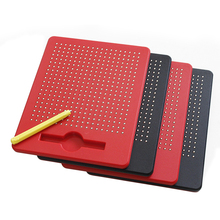 Kids Toys Drawing Board Creativity Toys For Children Creative Drawing Tablet Baby Magnetic Steel Beads Ball Pen Learning Gifts
